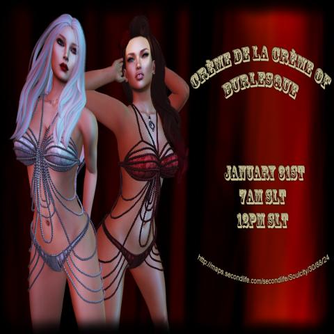 Burlesque Poster 1-31