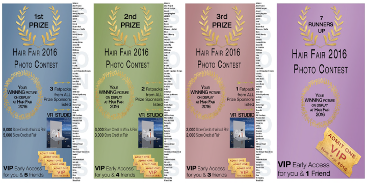 Hair Fair Photo Contest PRIZES sm