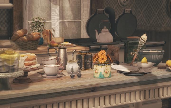 Tea and Cake and Because Callie SaidSo