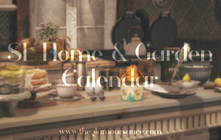 SL Home & Garden Calendar – July 2020