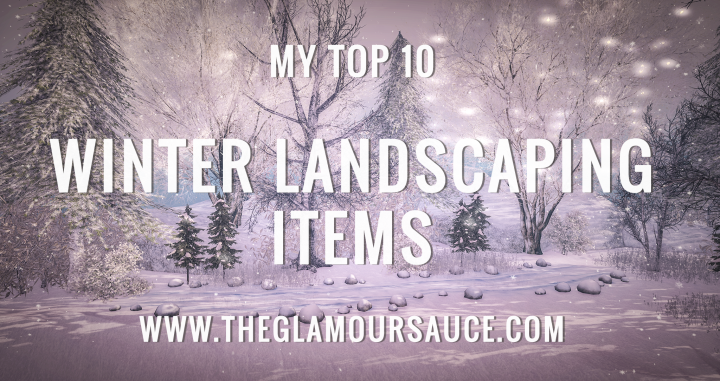 My Top 10 – Winter Landscaping Items