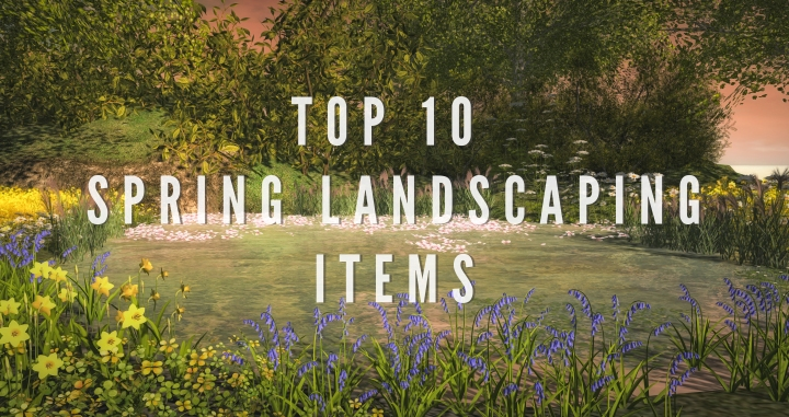 Top 10 Spring Landscaping Items