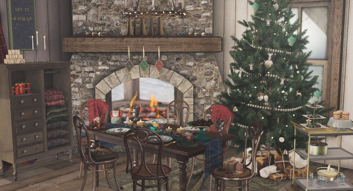 Feast at Christmas