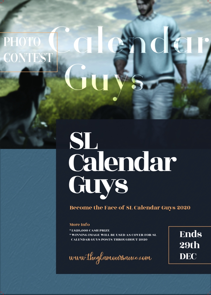 Face of Calendar Guys Photo Contest
